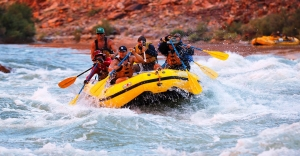 River Rafting down the Grand Canyon, Arizona, USA