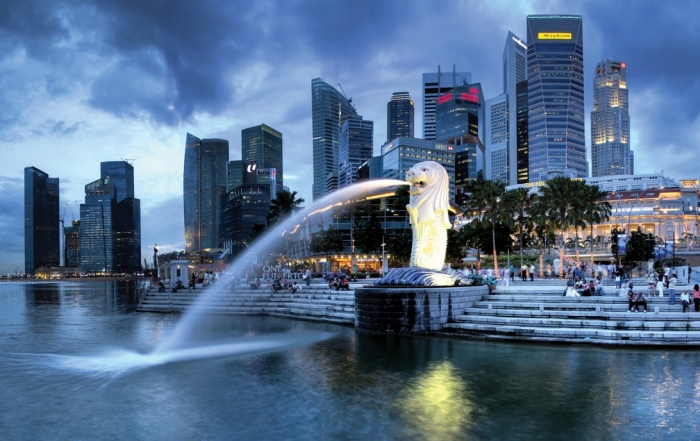 singapore-and-merlion