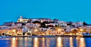 APCCDT Harbour, Dalt Vila, Eivissa, Ibiza, Balearic Islands, Spain