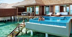 luxury resort, Maldives